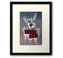 Devilhand - Pommesgabel Framed Print
