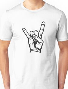 Devilhand - Pommesgabel Unisex T-Shirt