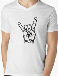 Devilhand - Pommesgabel Mens V-Neck T-Shirt