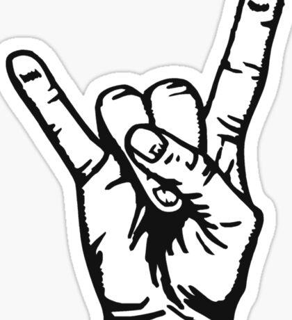 Devilhand - Pommesgabel Sticker