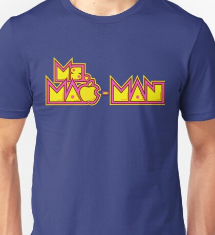 Ms. Mac-Man title mashup Unisex T-Shirt