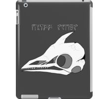 Cliff Racer Skull iPad Case/Skin