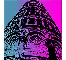 Leaning Tower of Pisa Artwork Photographic Print