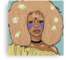 Flower Fro Canvas Print