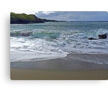Welcoming Waves Canvas Print