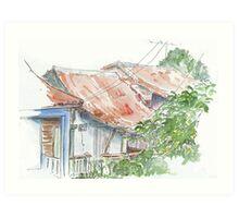 Casas de Vinales Art Print