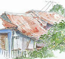 Casas de Vinales by Sue Pownall Artist