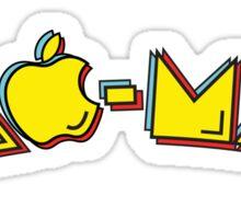 Mac-Man end-user title mashup Sticker