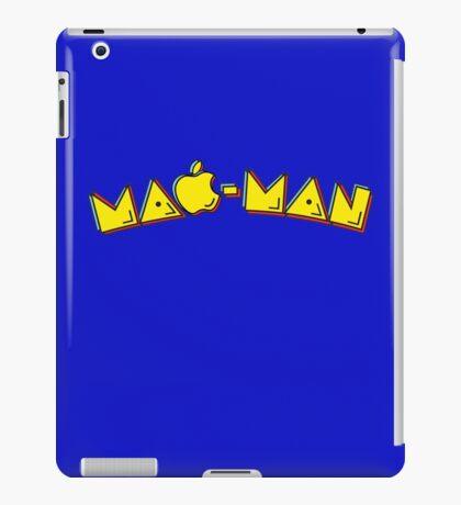 Mac-Man end-user title mashup iPad Case/Skin