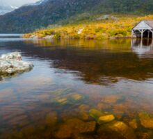The Boat Shed - Cradle Mountain Sticker