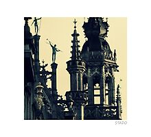 Architecture of Brussels Photographic Print