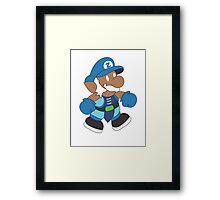 DotA 2 Zeus the blue Mario Framed Print