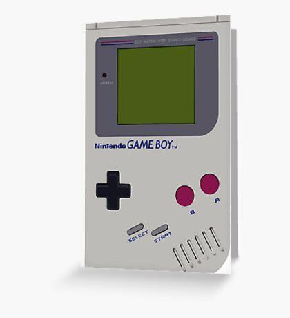 Nintendo Gameboy Greeting Card