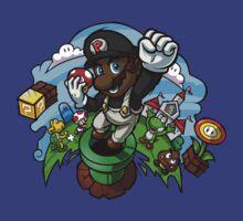 Black Mario and the Mushroom Kingdom by Timothy Gladden