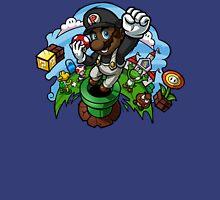 Black Mario and the Mushroom Kingdom Unisex T-Shirt