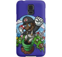 Black Mario and the Mushroom Kingdom Samsung Galaxy Case/Skin
