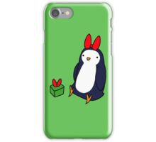 Christmas Gift Penguin iPhone Case/Skin
