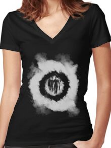 teen wolf cast Women's Fitted V-Neck T-Shirt