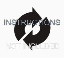 INSTRUCTIONS NOT INCLUDED Kids Tee
