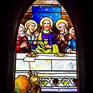 Bar Harbor Stained Glass Window by Robert Kelch, M.D.