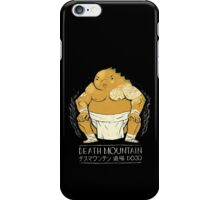 death mountain dojo iPhone Case/Skin
