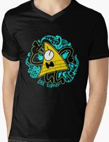 Bill Cipher Mens V-Neck T-Shirt