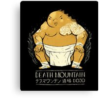 death mountain dojo Canvas Print