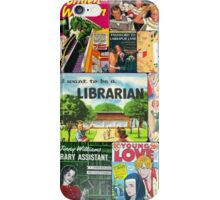 Mid-century Book Cover Collage iPhone Case/Skin