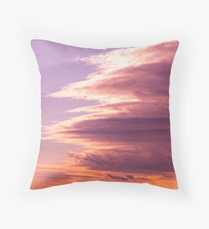Cloud vortex Throw Pillow
