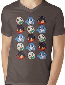 Pokemon Sun & Moon Starters Mens V-Neck T-Shirt