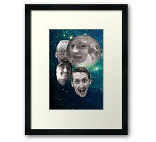 Lee John Moon Framed Print
