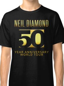 NEIL DIAMOND 50th Year anniversary world tour 2017 #1 Classic T-Shirt