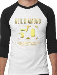 NEIL DIAMOND 50th Year anniversary world tour 2017 #1 Men's Baseball ¾ T-Shirt