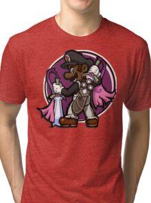 The Legend of Black Mario Tri-blend T-Shirt