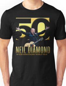 NEIL DIAMOND 50th Year anniversary world tour 2017 limited art design #5 Unisex T-Shirt