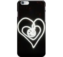 Heart Light Drawing iPhone Case/Skin
