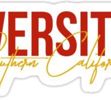 University of Southern California Sticker