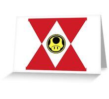 Mushroom Plumber Ranger Greeting Card