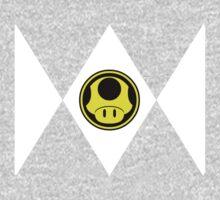 Mushroom Plumber Ranger One Piece - Long Sleeve