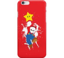 Super Mario Splattery T-Shirt iPhone Case/Skin