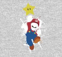 Super Mario Splattery T-Shirt Kids Tee