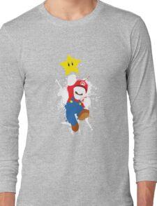 Super Mario Splattery T-Shirt Long Sleeve T-Shirt