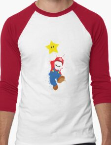 Super Mario Splattery T-Shirt Men's Baseball ¾ T-Shirt