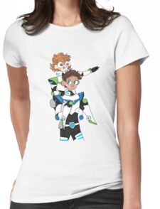 Space Boys Womens Fitted T-Shirt