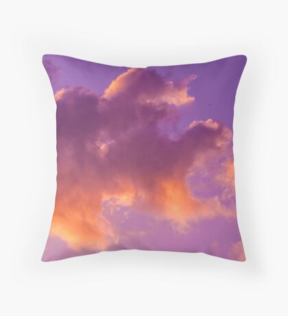 Cloud dragon Throw Pillow