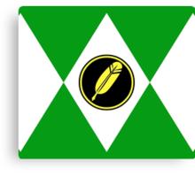 Feather Plumber Ranger Canvas Print