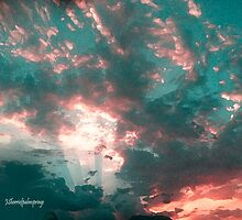 Let The Light Of The Heavens Shine In Your Heart Always-dedicated to all Redbubblers by Sherri     Nicholas
