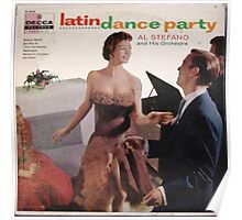 Latin Dance Party Poster