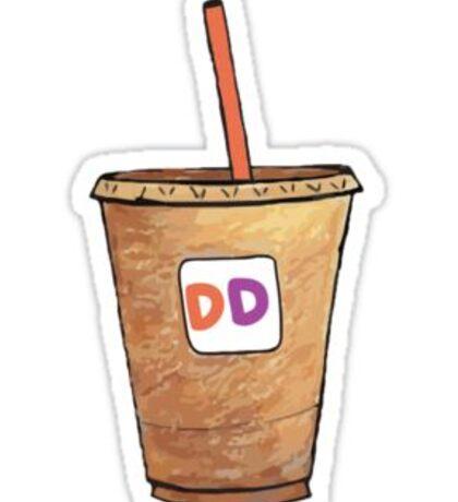 Dunkin Sticker