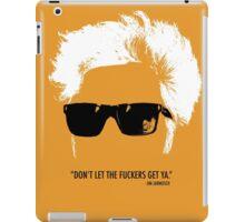 Jim Jarmusch Hair iPad Case/Skin